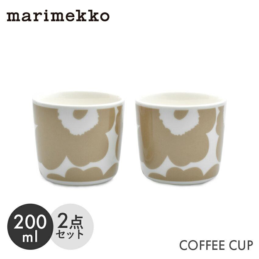 マグカップ・ティーカップ, コーヒーカップ  2 MARIMEKKO COFFEE CUP 2DL 2PCS 2