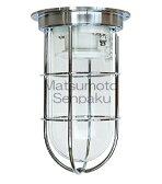 松本船舶照明器具 マリンランプ 1-DK-S (1号デッキライト シルバー) 屋外灯 その他屋外灯 ランプ別売 白熱灯