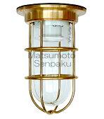 松本船舶照明器具 マリンランプ NW-DK-G (NEWデッキライト ゴールド) 屋外灯 その他屋外灯 ランプ別売 白熱灯