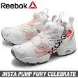 送料無料 REEBOK リーボック スニーカー インスタ ポンプ フューリー セレブレート ホワイト×レッド×ブルー(REEBOK INSTA PUMP FURY CELEBRATE V69142)レディース(女性用) 靴 シューズ