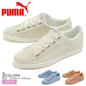PUMA プーマ スニーカー 全3色 プーマ ビッキー リボン S PUMA VIKKY RIBBON S 366416 04 05 06 レディース