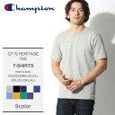 【メール便可】 CHAMPION チャンピオン 半袖Tシャツ 全9色GT19 ヘリテージ 半袖Tシャツ GT19 HERITAGE TEEメンズ [19gmt]
