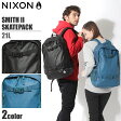 送料無料 NIXON ニクソン スミス 2 スケートパック 21L ブラック 他全2色NIXON SMITH II SKATEPACK C1954バックパック 鞄 バッグ リュック デイパック アウトドア スケートボードメンズ(男性用) 兼 レディース(女性用)