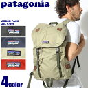 送料無料 PATAGONIA パタゴニア バッグパック アーバーパック 26L ブラック 他全4色ARBOR PACK 26L 47956デイパック リュックサック バッグ 鞄 アウトドアメンズ(男性用) 兼 レディース(女性用)