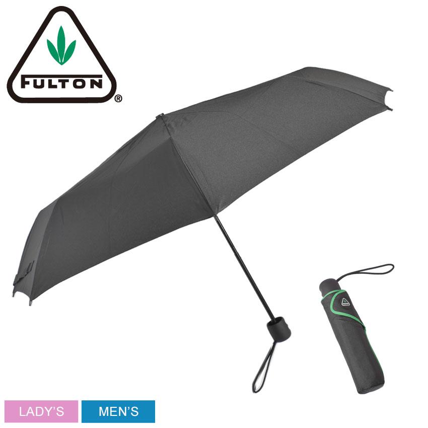 FULTONフルトン傘ブラックハリケーン1HURRICANE1G839026212メンズレディース雨傘雨雨具折りたたみ折り畳みおしゃれシックブランド軽量黒