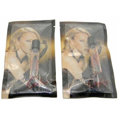 美容・コスメ・香水, 香水・フレグランス  2 2x2mlKylie Minogue Couture EDT Roll On Vial Sample 2ml (Lot of 2)