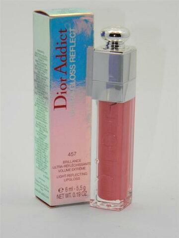 ディオール アディクト ウルトラグロス リフレクト ライトリフレクティング リップグロス 457 ピンクライブラリー【Dior Addict Ultra-Gloss Reflect Light-Reflecting Lipgloss 457 Pink Liberty】
