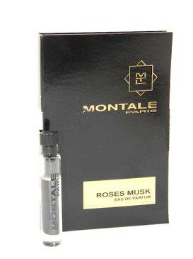 モンタル ローズ ムスク オードパルファン お試しチューブサンプル 2ml【Montale Roses Musk Eau de Parfum EDP Vial Sample 2ml New with Card】