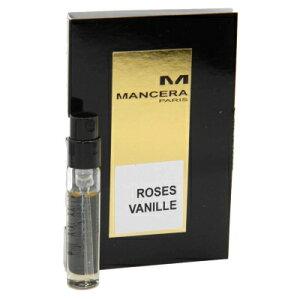 マンセラ ローズヴァニーユ オードパルファン お試しチューブサンプル 2ml【Mancera Roses Vanille EDP Vial Sample 2ml New With Card】