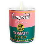 アンディ ウォーホール キャンベル ピンク グリーン キャンドル 140g【Andy Warhol CAMPBELL Pink Green Candle 140g / 5oz】