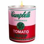 アンディ ウォーホール キャンベル ピンク レッド キャンドル 140g【Andy Warhol CAMPBELL Pink Red Candle 140g / 5oz】