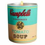 アンディ ウォーホール キャンベル ターコイズ イエロー キャンドル 140g【Andy Warhol CAMPBELL Turquoise Yellow Candle 140g / 5oz】