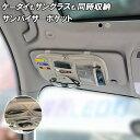 サンバイザーポケット 車内用品 収納バッグ インナーポケット付き 便利 ドライブグッズ サングラス スマートフォン カード 駐車券 ETCカード イヤホン ケーブル