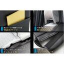 (Azur)フロントシートカバー ダイハツ ハイゼットカーゴS321V S331V (2011年12以降) ヘッドレスト分割型 3