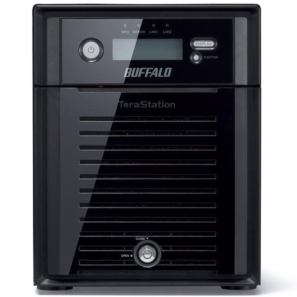 バッファロー Windows Storage Server 2016 Standard Edition搭載 4ベイNAS 16TB WS5400DN16S6
