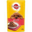 (まとめ)ペディグリー 成犬用 ビーフ 130g【×50セット】【ペット用品・犬用フード】
