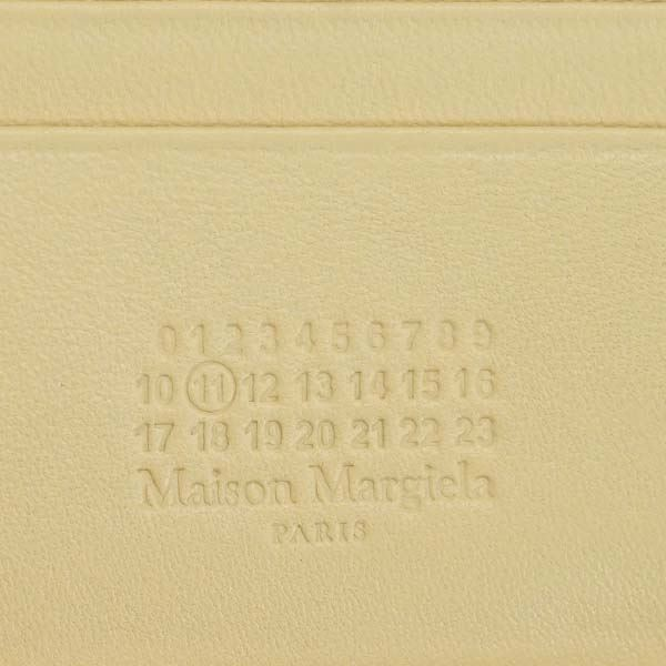Maison Margiela(メゾン マルジェラ) 2つ折小銭付き財布 S56UI0111 T2061 SAND
