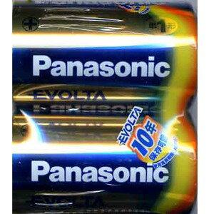 パナソニック エボルタ アルカリ乾電池 単1形 2本パック LR20EJ/2SE (1808-0102)