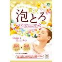牛乳石鹸 お湯物語 贅沢泡とろ 入浴料 プルメリアガーデンの香り 30g (1308-0403)