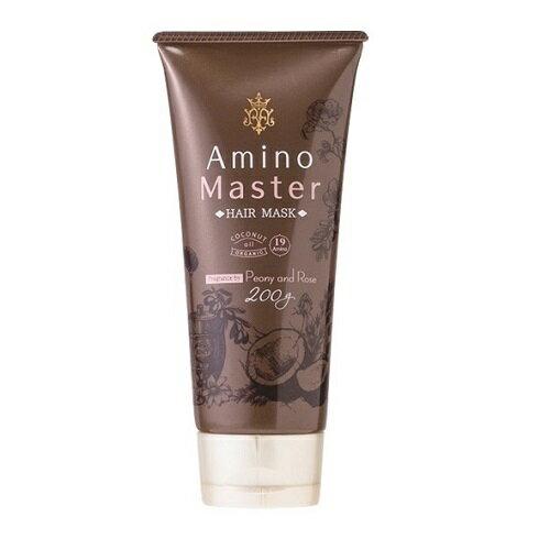 アミノマスター ヘアマスク / 200g / ピオニー&ローズの香り