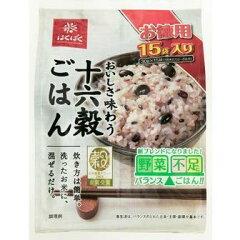 洗ったお米に混ぜるだけ![はくばく]おいしさ味わう十六穀ごはん お徳用 30g×15袋