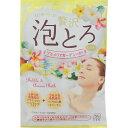 [牛乳石鹸]お湯物語 贅沢泡とろ 入浴料 プルメリアガーデンの香り 30g