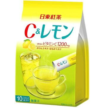 日東紅茶 C&レモン 10本入/ビタミンC/レモネード/粉末/スティック