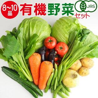 産地直送 有機野菜セット(9-12品目)有機栽培 野菜 詰め合わせ 有機野菜 セット オーガニック 奈良 送料無料