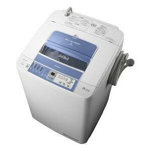 「自動お掃除」搭載の全自動洗濯機。日立 全自動洗濯機 ビートウォッシュ 7kg BW-7PV-A ブル...
