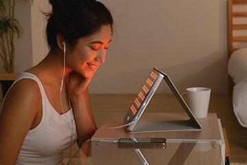 ホームエステ 光エステ アイキャッチ 美顔器 真実の鏡Beauty-Antimir LED pad EC016BTAC-1X  プレゼント 母の日