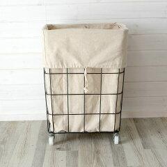 ランドリーバッグ おしゃれ かご 収納 収納かご ランドリーバスケット