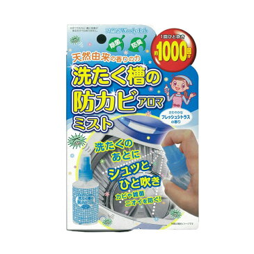 Woody-Lab(ウッディラボ) 洗たく槽の防カビ アロマミスト フレッシュシトラスの香り 100ml×3本セット 代引き不可