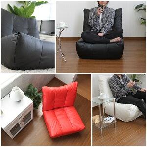 リクライニング座椅子一人掛けソファ1人掛けソファリクライニングソファリクライニング座椅子座いすソファーチェア合成皮革レザー一人掛け1人用シンプルおしゃれブラック/レッド/アイボリー新品アウトレット