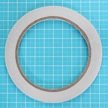 手芸用 布用 両面テープ 幅4mm 18.3m巻き sgy-730-4mm【メール便可】( テープ 接着剤 業務用 資材)