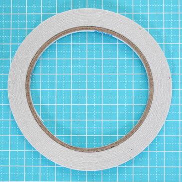 手芸用 布用 両面テープ 幅3mm 18.3m巻き sgy-729-3mm【メール便可】( テープ 接着剤 業務用 資材)