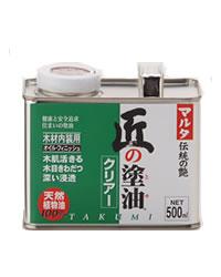 えごま油100%の木部保護塗料「匠の塗油」