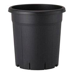 果樹、花木の栽培に適した土容量タップリで安定感のある深型タイプ果樹鉢 365型 ブラック 【サ...