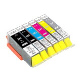 BCI-381XL+380XL/6MP 互換インク 6色 BCI-381XL (BK/C/M/Y/GY) + 380XLPGBK 6色マルチパック BCI-381 BCI-380 1年保証付 XL大容量タイプ ICチップ付 残量表示可能