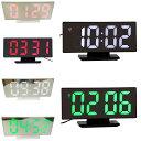 ミラーデジタルLEDアラーム時計 デジタルLED時計 デジタル表示 LED表示