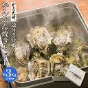 開店記念20%OFFクーポン配布中! 【牡蠣かんかん焼きSサイズ約20個3Kg】 厳選活生カキ...