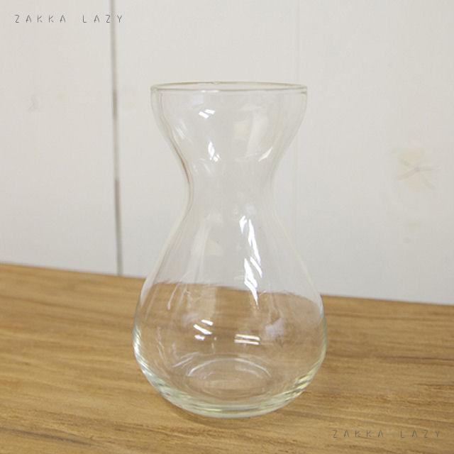 『水栽培&フラワーポット』ガラス ビン 花瓶 飾り びん 水栽培 クリア シンプル