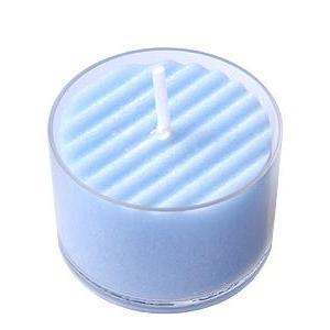 日本製のアロマキャンドル アロマムード オーシャンフルーティーの香り・ブルー