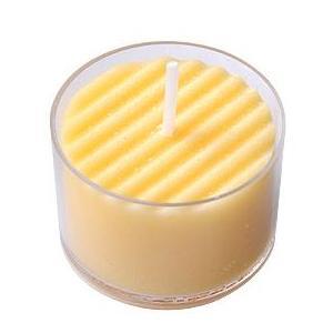 日本製のアロマキャンドル アロマムード カモミールの香り・イエロー