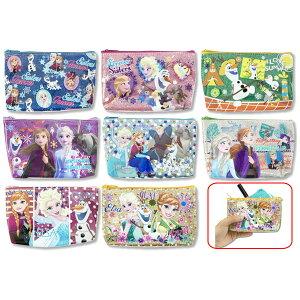 [8套] [时尚的小袋] Anna Snow Kirakira船形小袋化妆品配件安娜和雪女王商品迪士尼玩具文具杂货小物件动漫电影角色商品儿童派对女孩