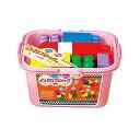 凸凹ブロックミニBB11 ピンク ブロック 積み木 デコボコ 知育玩具 知育 創造力 立体 オモチャ おもちゃ パズル パズルおもちゃ レゴ レゴブロック おもしろ雑貨 ザッカ ビンゴ景品 バザー