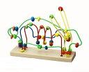 木のおもちゃ ビーズコースターラビット 木製 木製玩具 木のおもちゃ おもちゃ オモチャ 玩具 指先 アニマル うさぎ ベビートイ やさしさ 知育玩具 知育 キッズ ベビー おもしろ雑貨 ザッカ ビンゴ景品 バザー