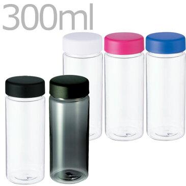 運動会 熱中症 対策 スリムクリアボトル (S) 300ml   クリアボトル マイボトル 水筒 直飲み 無地 シンプル 小 小さめ 細め 細い 小さい エコ プラスチック 清潔 マイ水筒 おしゃれ かわいい シンプル 無地 ボトル 軽量 軽い 常温 蓋つき ふた付き ふた フタ 蓋