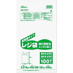 省資源レジ袋 エンボス加工 100枚入 東日本45号/西日本45号 FI-5