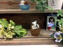 ゴートバレル 5e3336ガーデン雑貨 ガーデンマスコット ガーデンオーナメント ミニチュア ナチュラル 雑貨 ナチュラル雑貨 ヤギ 置物 おしゃれ かわいい 屋内 屋外 室外 多肉植物