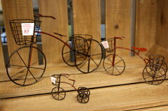 ジュディベル ワイヤーサイクル RD Lサイズ自転車 レッド 赤い ミニチュアミニ三輪車